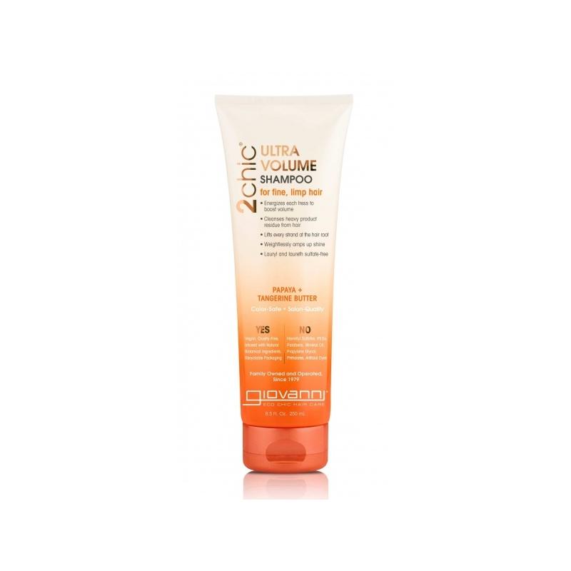 Giovanni Ultra Volume kohevust andev šampoon