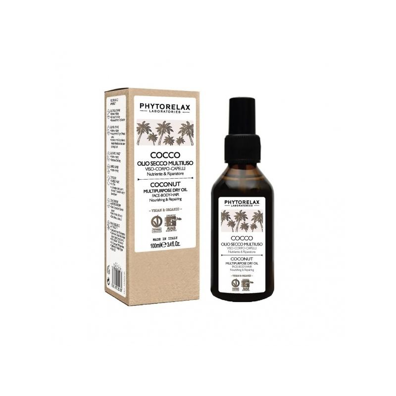 Phytorelax Kookose kuivõli näole/kehale/juustele