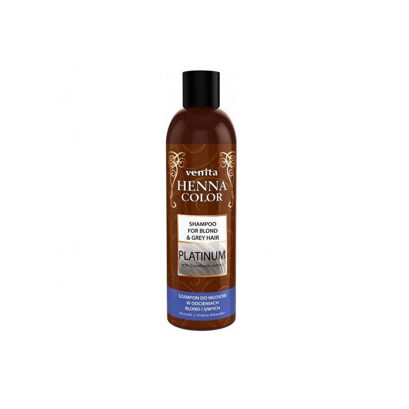 Venita Henna Color šampoon blondidele ja hallidele juustele