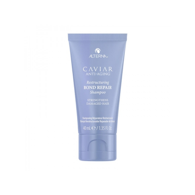 Alterna Caviar Restructuring Bond Repair Shampoo Juukseid intensiivselt taastav šampoon