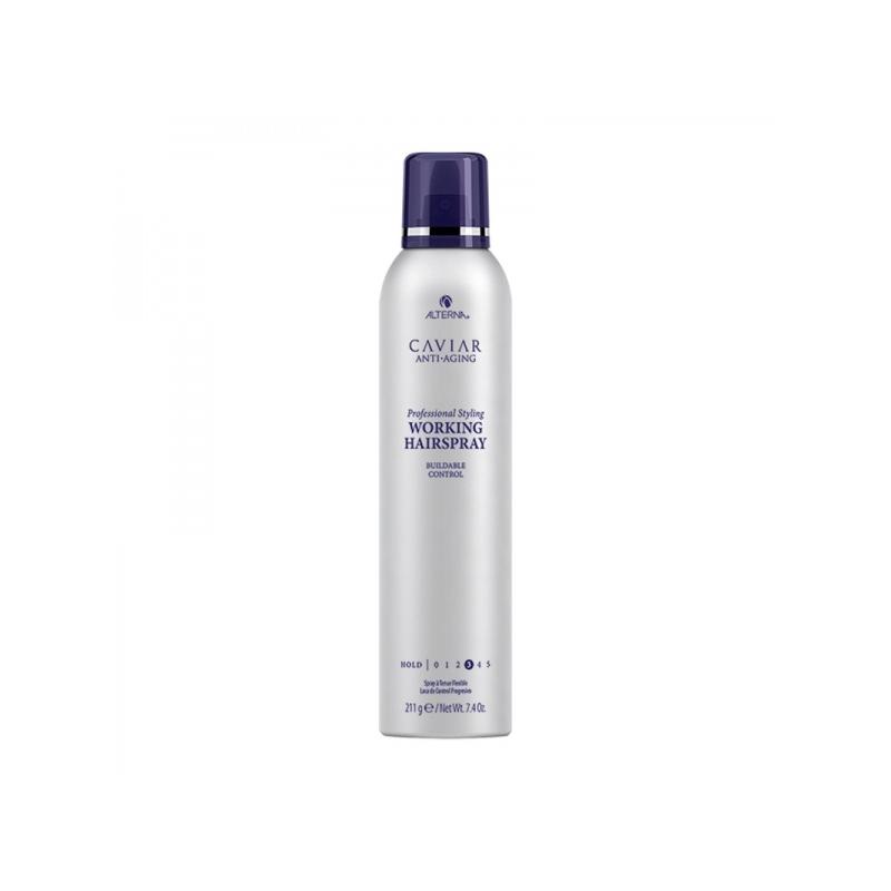 Alterna Caviar Professional Styling Working Hairspray Keskmist hoiakut andev juukselakk