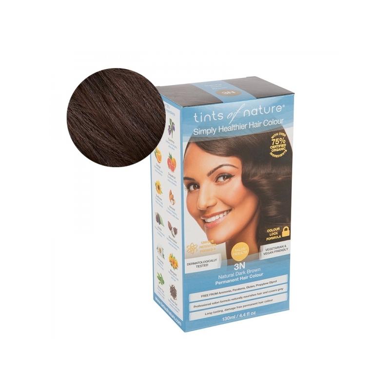 Tints Of Nature 3N Natural Dark Brown Looduslik juuksevärv