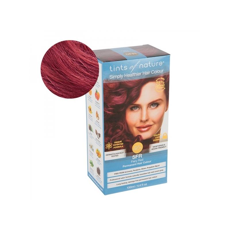 Tints Of Nature 5FR Fiery Red Looduslik juuksevärv