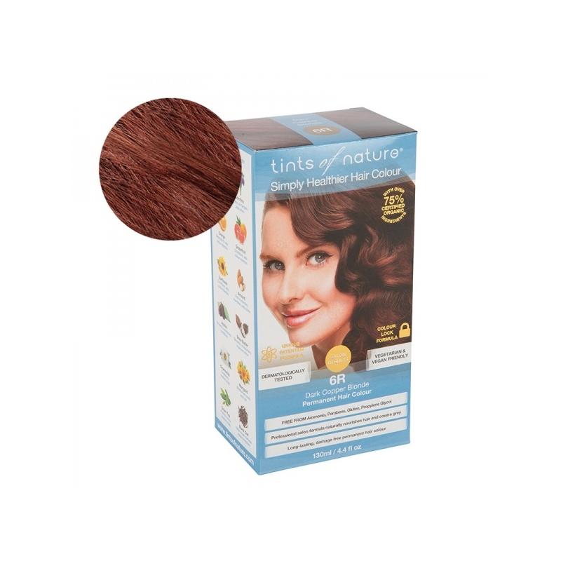 Tints Of Nature 6R Dark Copper Blonde Looduslik juuksevärv