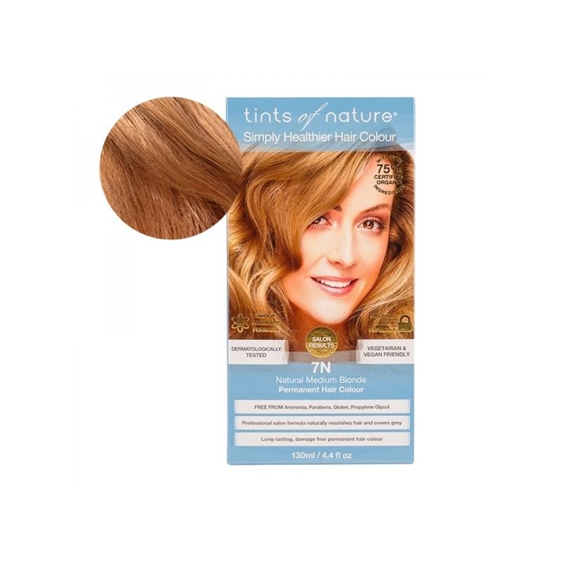 Tints Of Nature 7N Natural Medium Blonde Looduslik juuksevärv