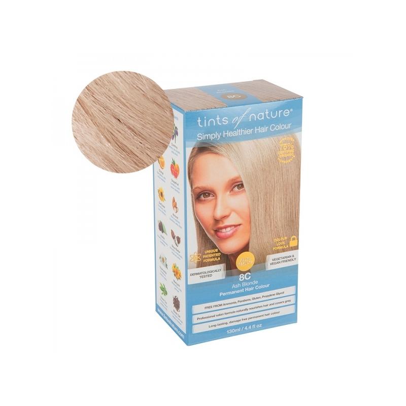 Tints Of Nature 8C Ash Blonde Looduslik juuksevärv