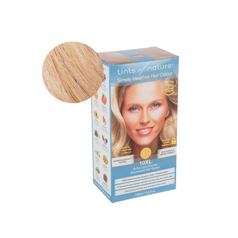 Tints Of Nature 10XL  Extra Light Blonde Looduslik juuksevärv