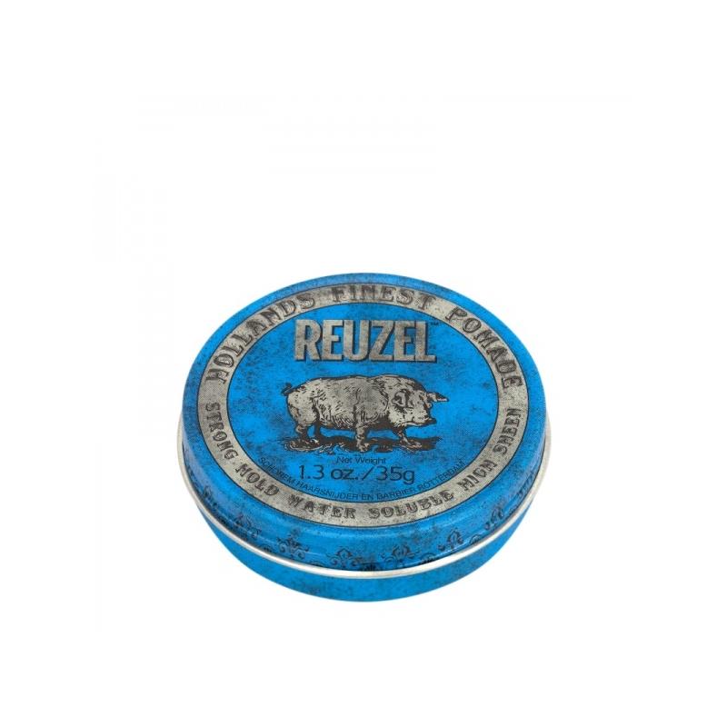 Reuzel Blue Strong Hold High Sheen Pomade juuksepumat 35g