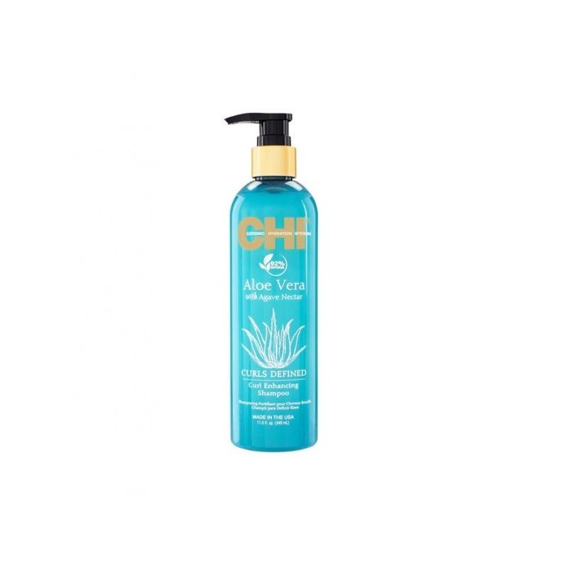 Chi Aloe Vera šampoon lokkis juustele 340 ml