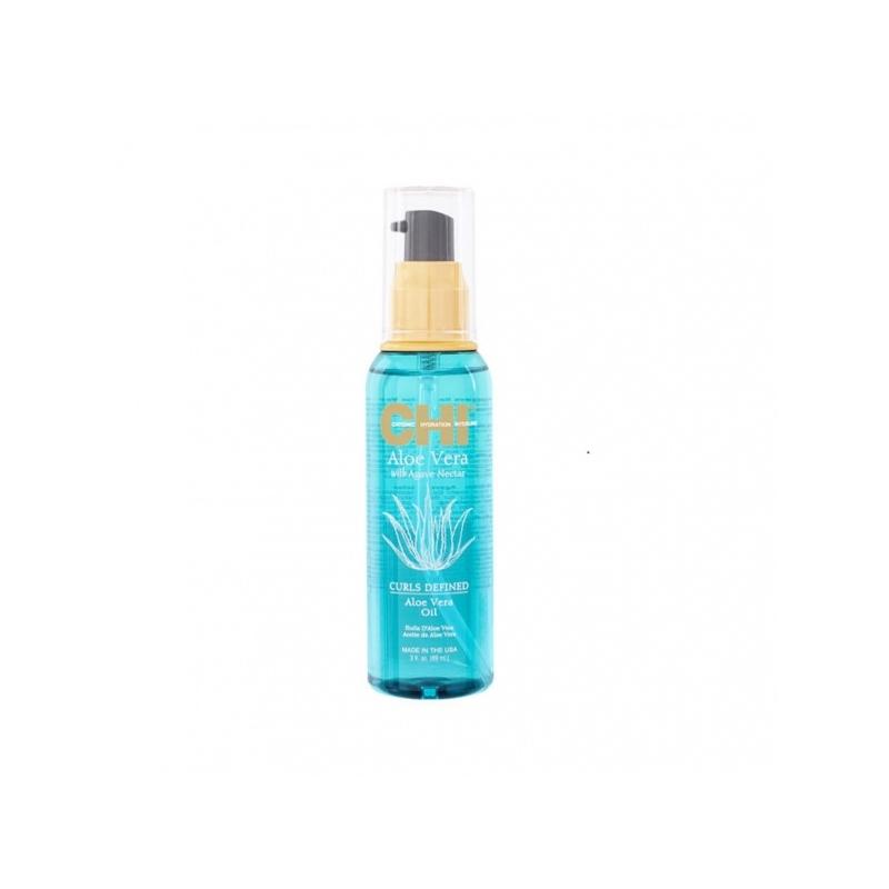 Chi Aloe Vera niisutav juukseõli lokkis juustele 89 ml