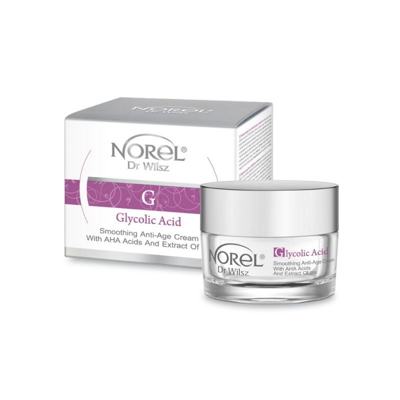 Norel Dr Wilsz Glycolic Acid AHA-hapete ja iirise ekstraktiga naha ebatasasusi ühtlustav öökreem
