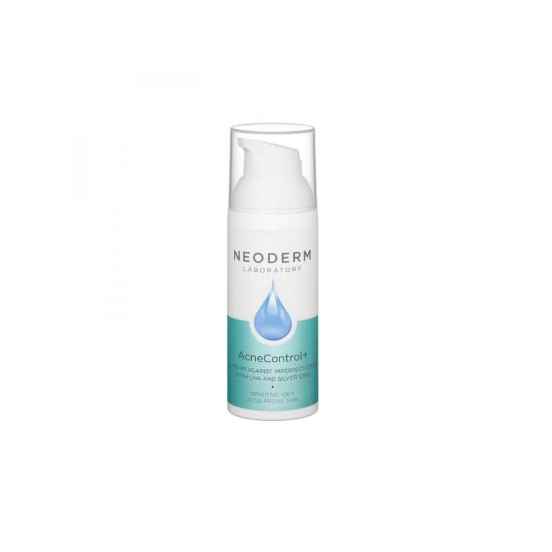 Neoderm AcneControl+ LHA ja hõbedaioonidega kreem probleemsele nahale