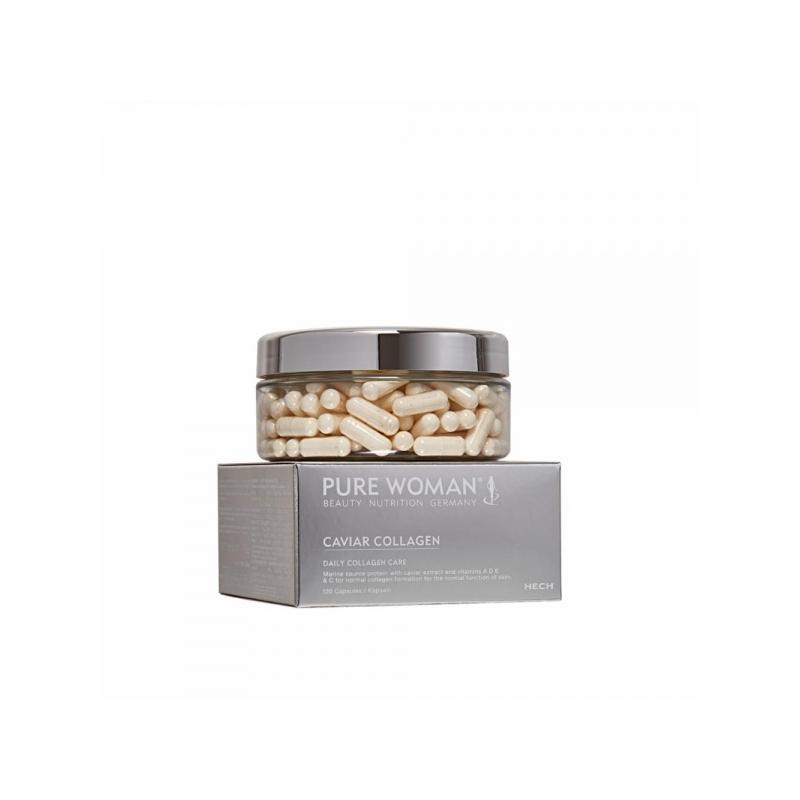 Hech Caviar Collagen kapslid kollageeni ja kalamarja ekstraktiga 120tk