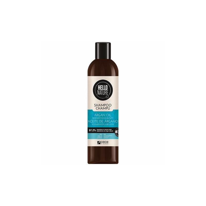 Hello Nature Taastav ja toitev šampoon argaaniaõliga 300ml