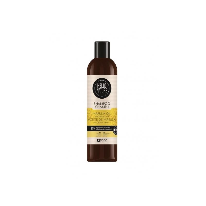 Hello Nature Pehmendav ja läiget andev šampoon marulaõliga 300ml