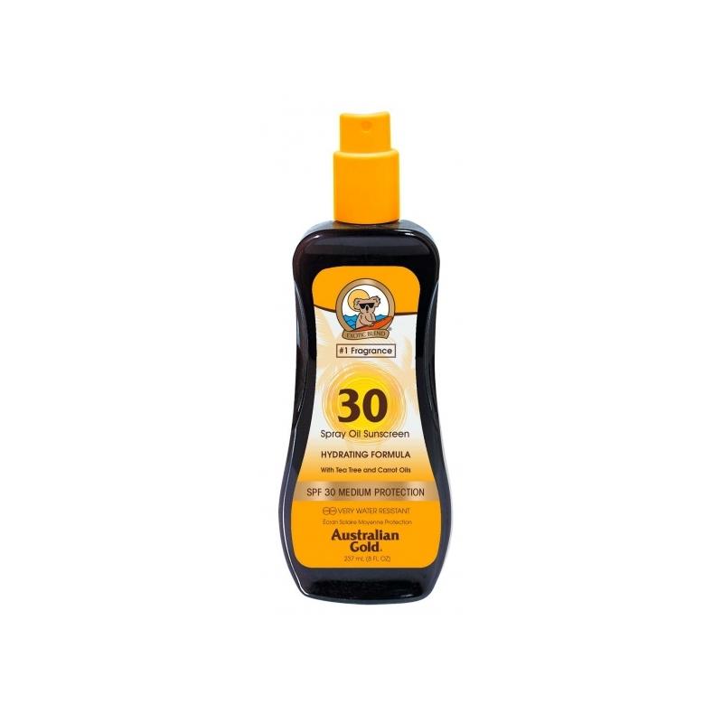 Australian Gold SPF 30 Spray Oil päevitusõli porgandiga 237ml
