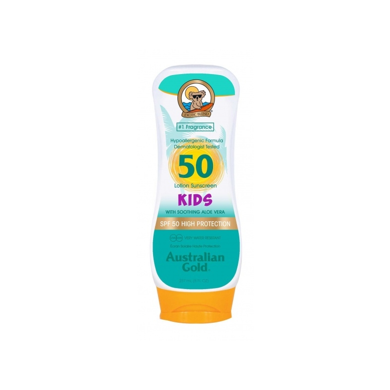 Australian Gold SPF 50 Lotion Kids päevituskreem lastele 237ml