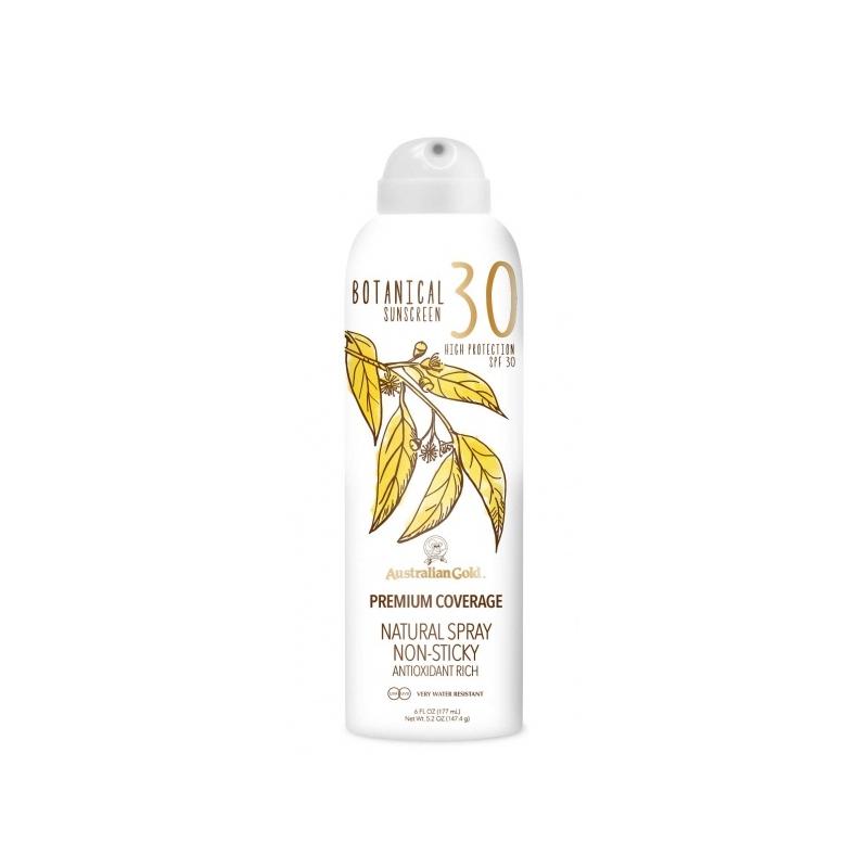 Australian Gold Botanical SPF 30 Continuos Spray päevitussprei 177ml