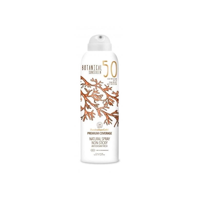 Australian Gold Botanical SPF 50 Continuos Spray päevitussprei 177ml