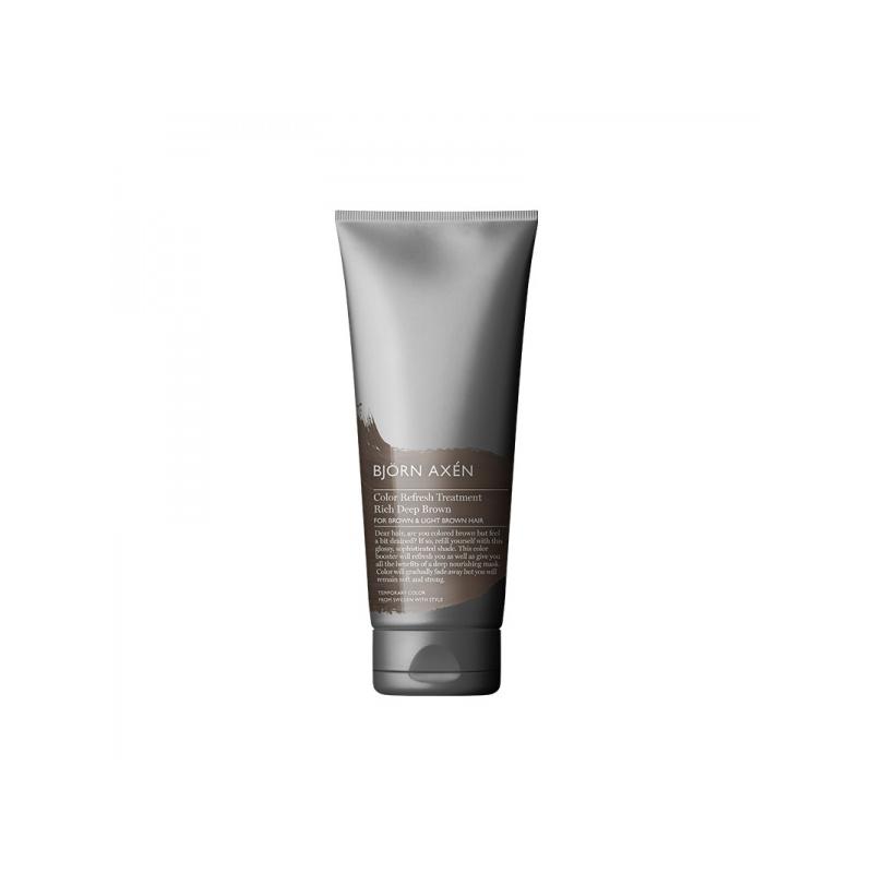 Björn Axén Color Refresh Treatment tooniv juuksemask sügavpruun 250ml