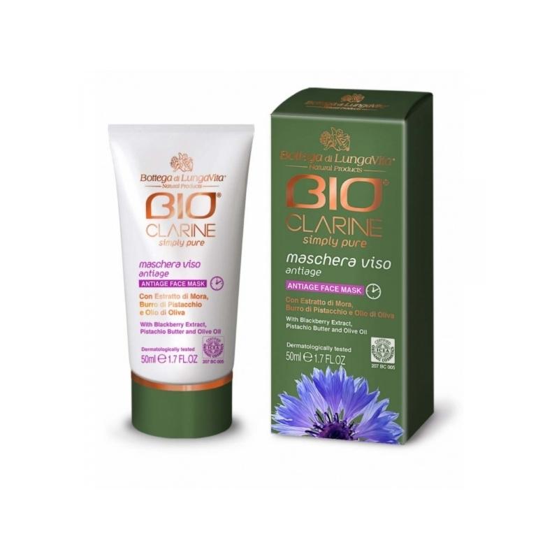 Bioclarine Simply Pure Anti-Age Face Mask vananemisvastane näomask 50ml