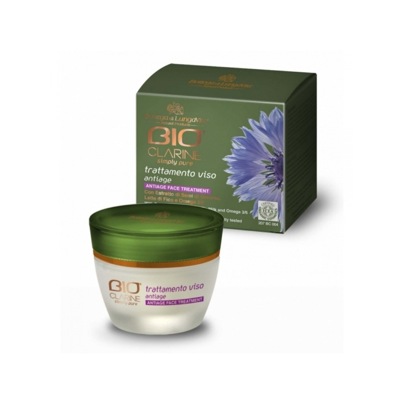 Bioclarine Simply Pure Anti-Age Face Treatment vananemisvastane näokreem 50ml