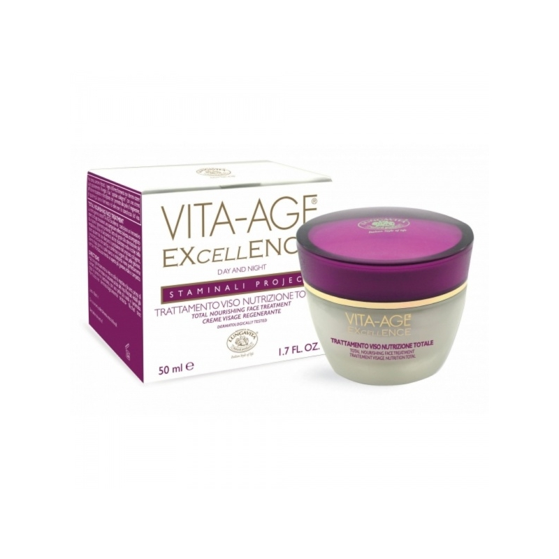 Vita-Age Excellence vananemisvastane kreem kuivale- ja seganahale 50ml