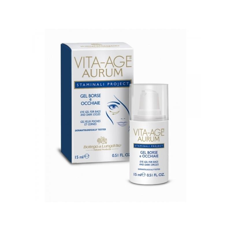 Vita-Age Aurum eksklusiivne silmageel turses ja tumedatele silmaalustele 15ml