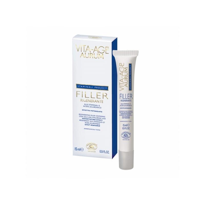 Vita-Age Aurum Filler nahka uuendav, kortse täitev silma-ja huulekreem 15ml