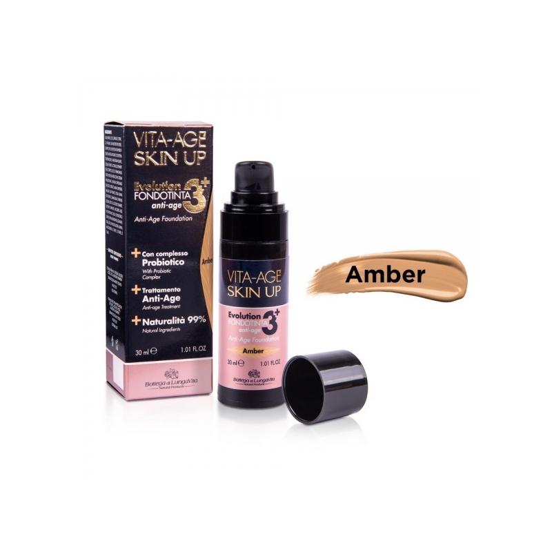 Vita-Age Skin Up Evolution Anti-Age probiootikumidega jumestuskreem 30ml Amber