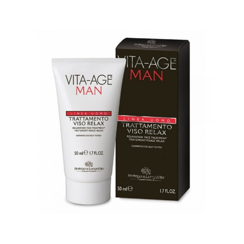 Vita-Age Man Relaxing Face Treatment lõõgastav näokreem marraskil nahale 50ml