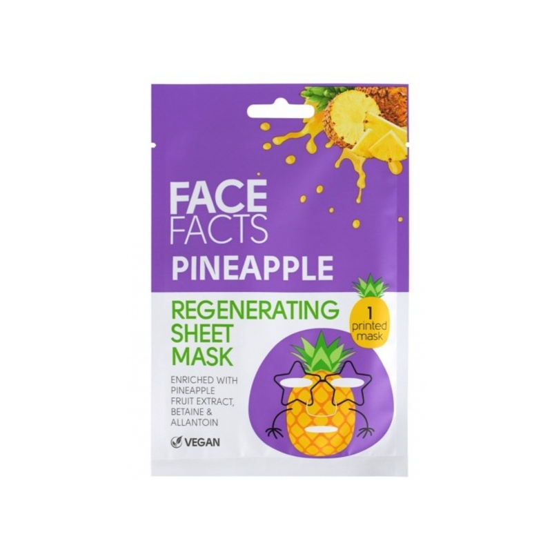 Face Facts Taastav kangasmask näole ananass