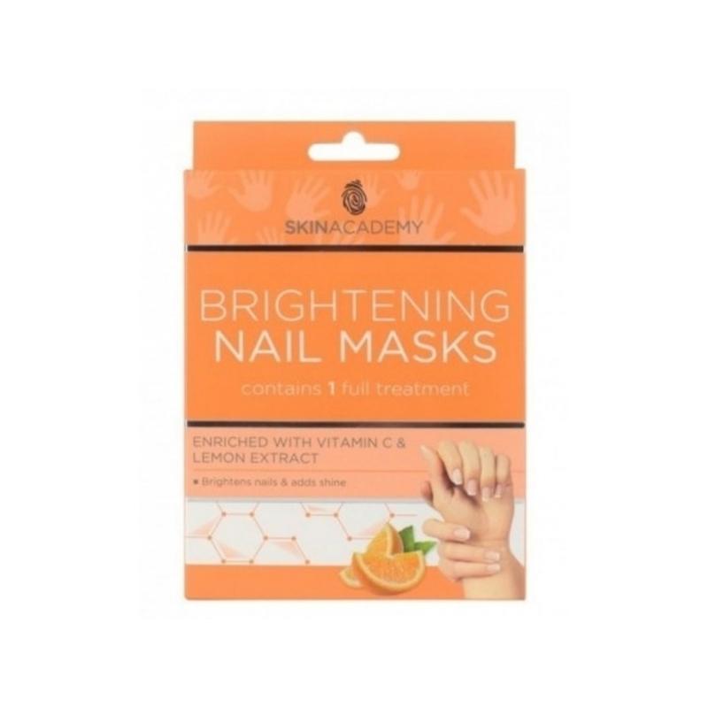 Skin Academy Heledust ja läiget andev mask küüntele C vitamiiniga 2x5tk