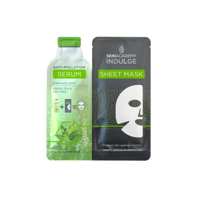 Skin Academy Näomask kaitsva anti-pollution seerumiga 25ml