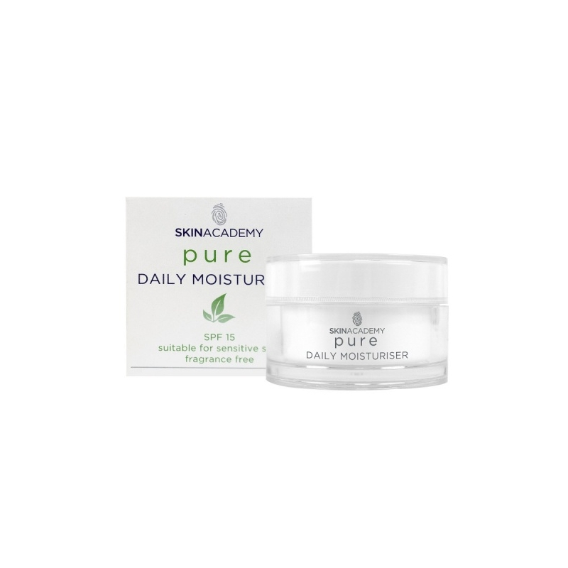 Skin Academy Niisutav ja kaitsev päevakreem tundlikule nahale SPF15 50ml