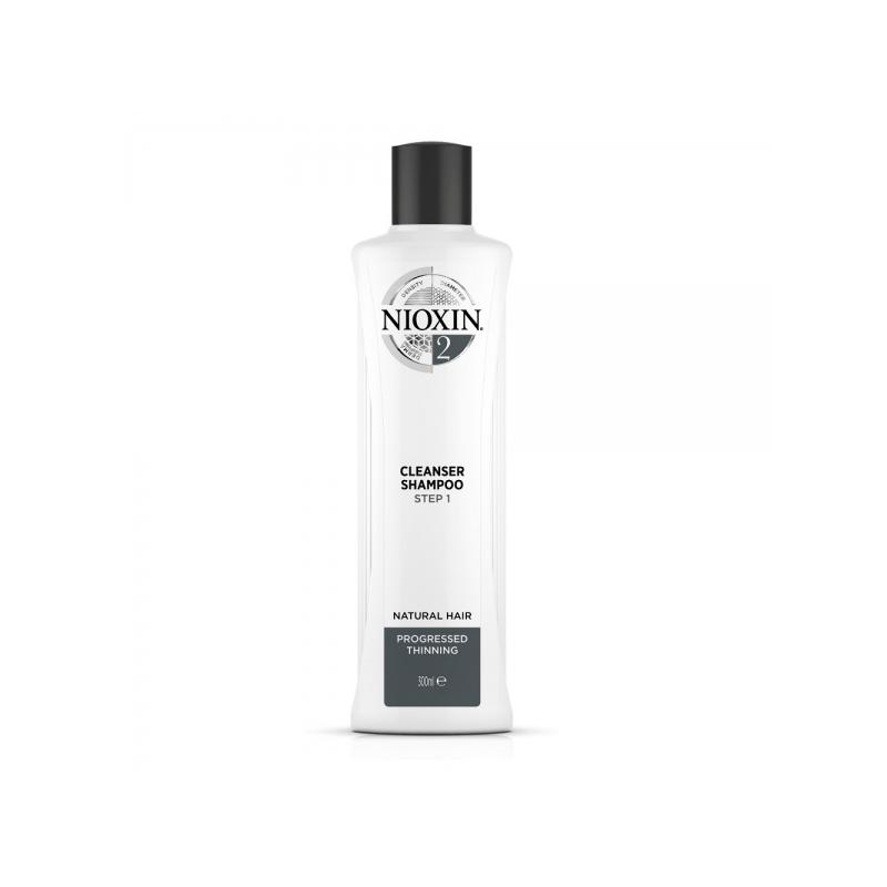Nioxin System 2 Puhastav Šampoon 300ml