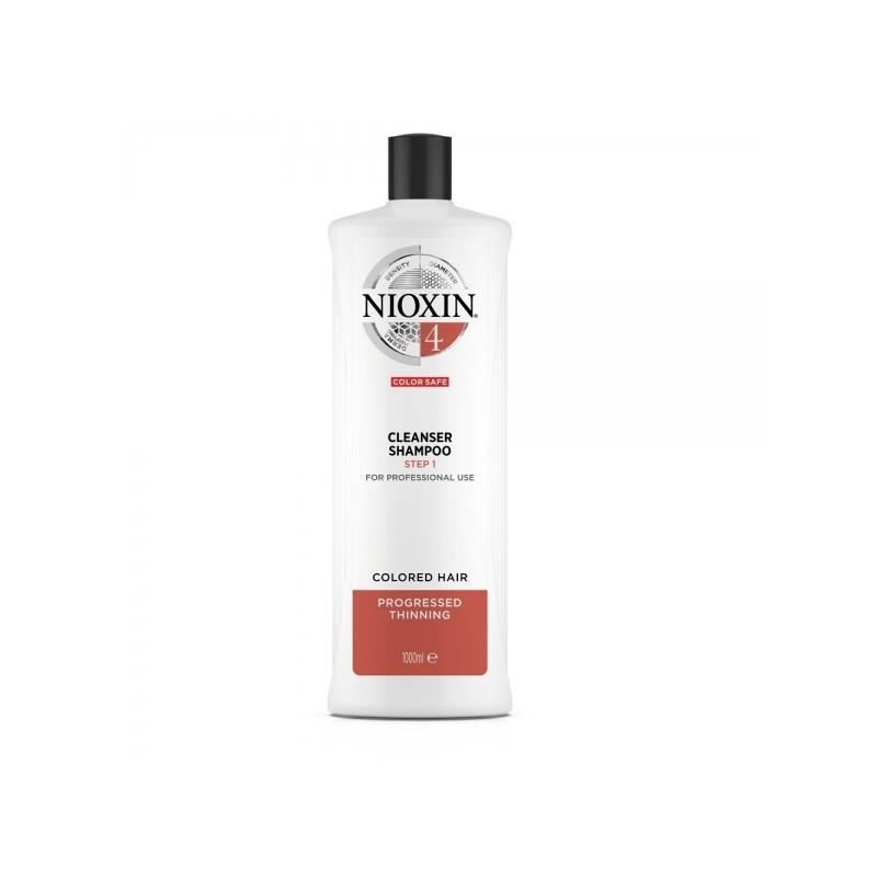 Nioxin System 4 Puhastav šampoon 1000ml