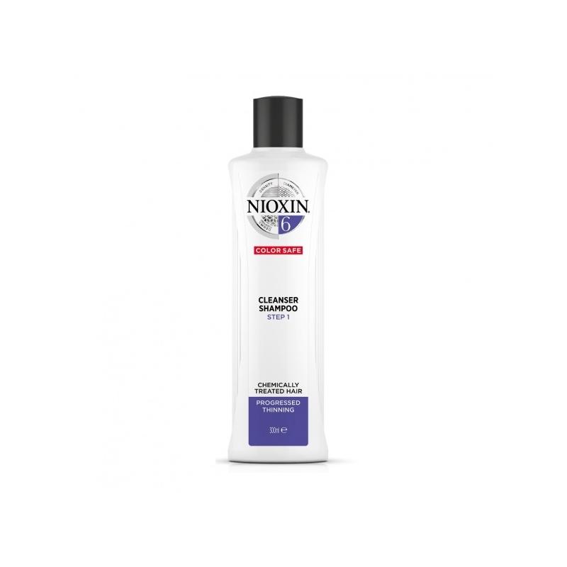 Nioxin System 6 Puhastav šampoon 300ml