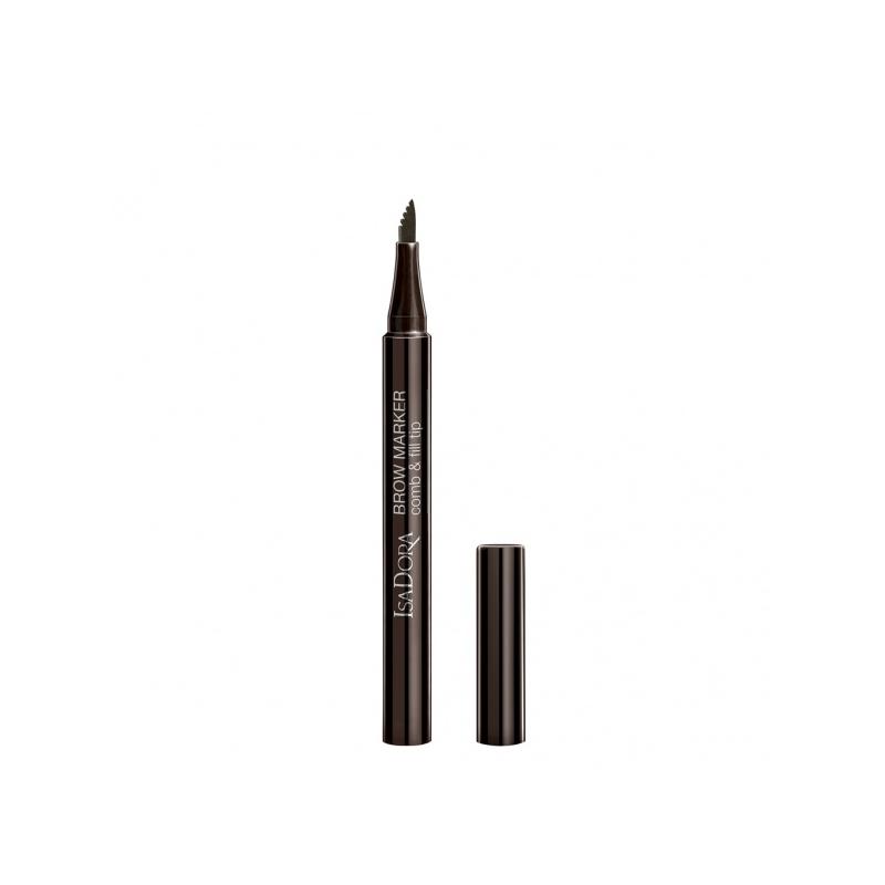 IsaDora Kulmumarker Comb&Fill Tip 22 ash brown