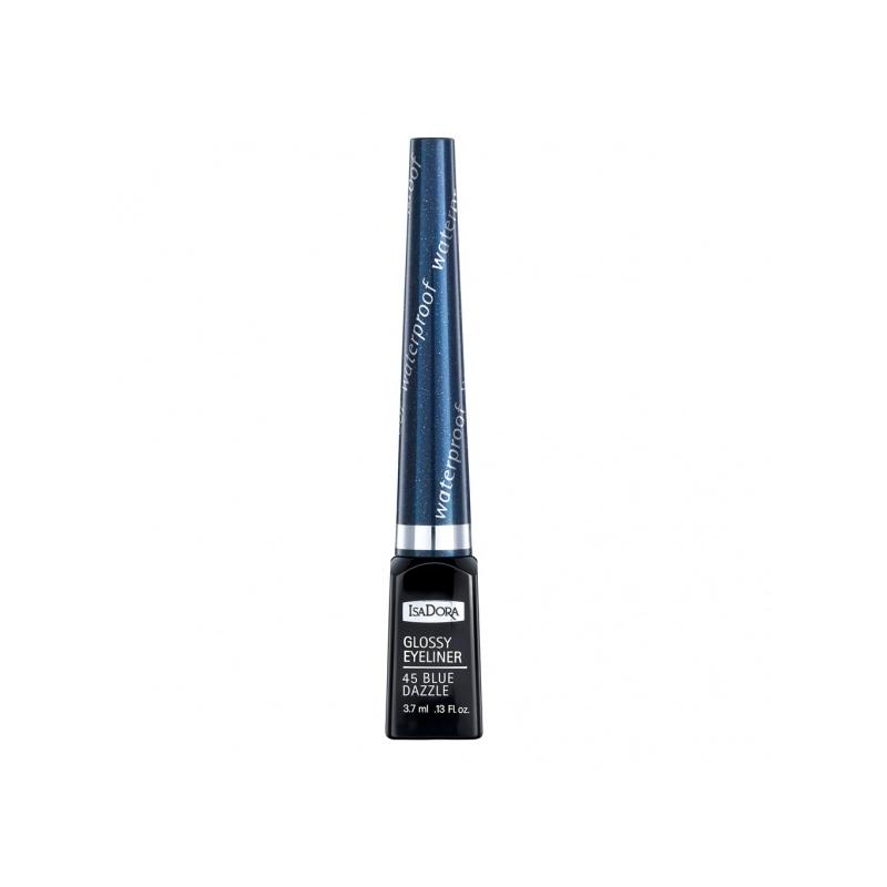 IsaDora Silmalainer Glossy 45 blue dazzle