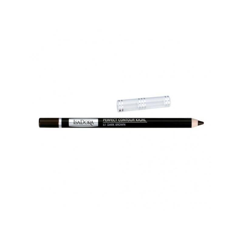 IsaDora Silmapliiats Perfect Contour Kajal 61 dark brown