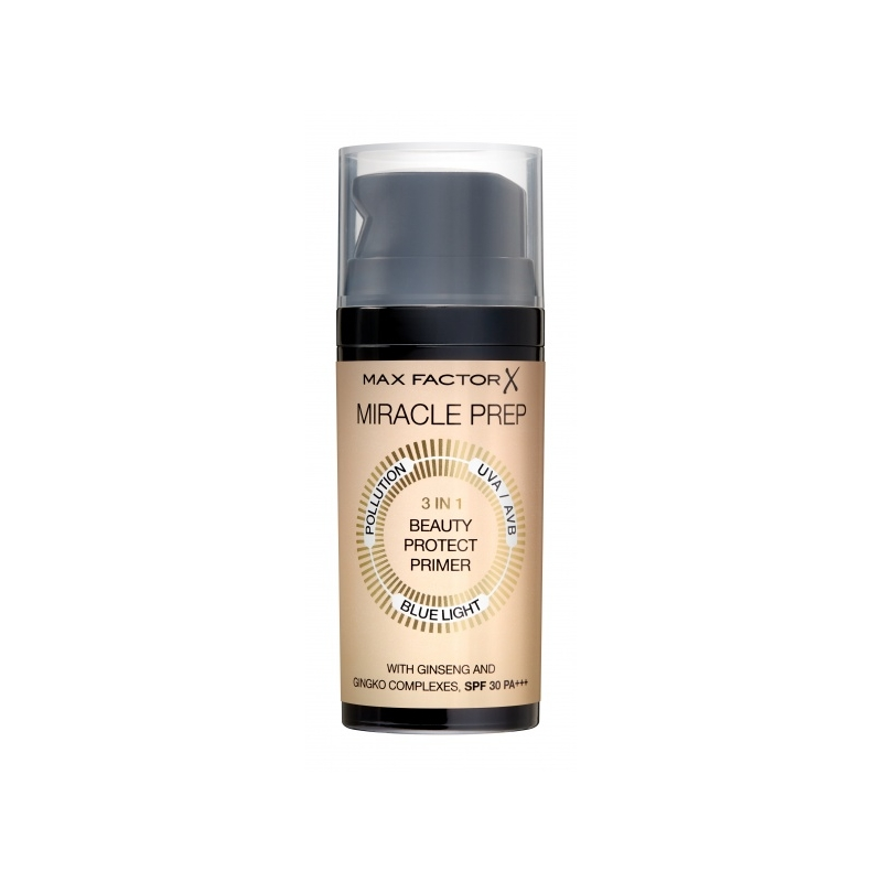 Max Factor Miracle Prep 3in1 Beauty Protect Primer meigialuskreem
