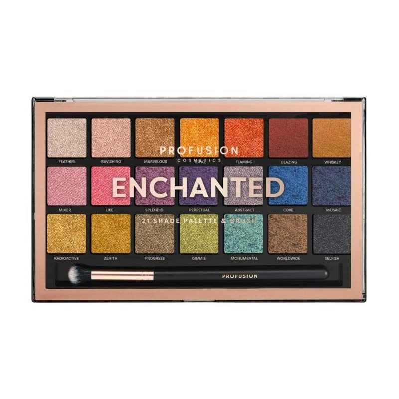 Profusion lauvärvipalett Enchanted 21 värvi