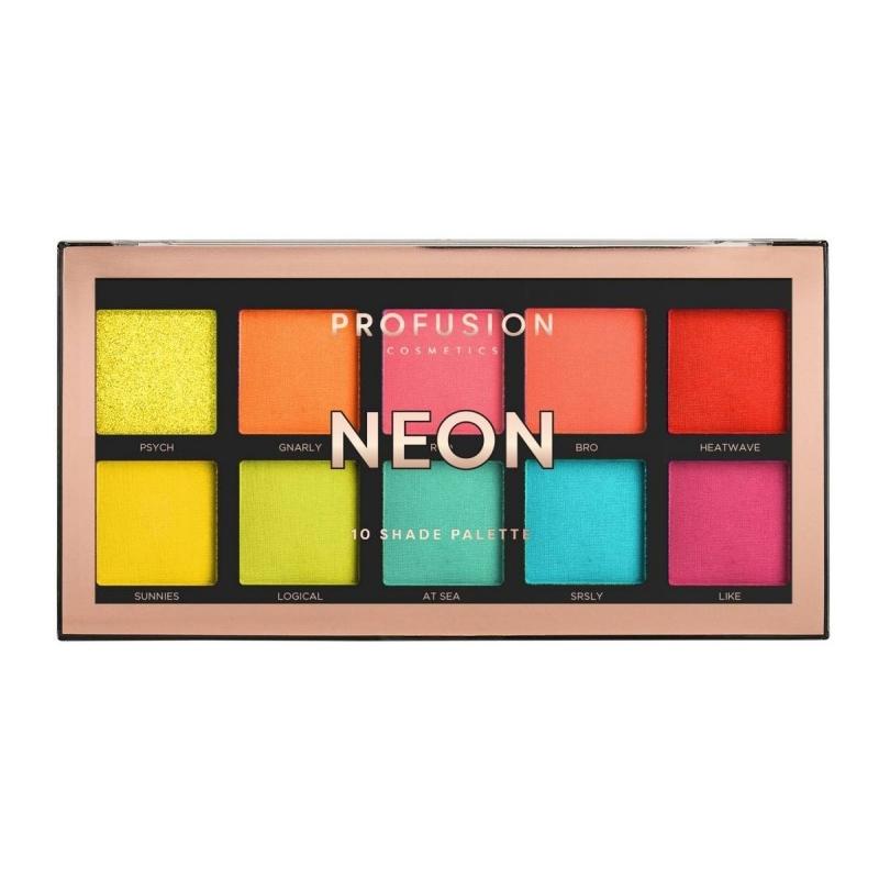 Profusion lauvärvipalett Neon 10 värvi