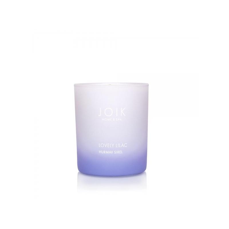 JOIK Home & Spa rapsivahast lõhnaküünal Hurmav Sirel