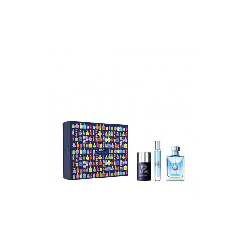 Versace Pour Homme set 75ml stick + 10ml Travel spray + EDT 100ml