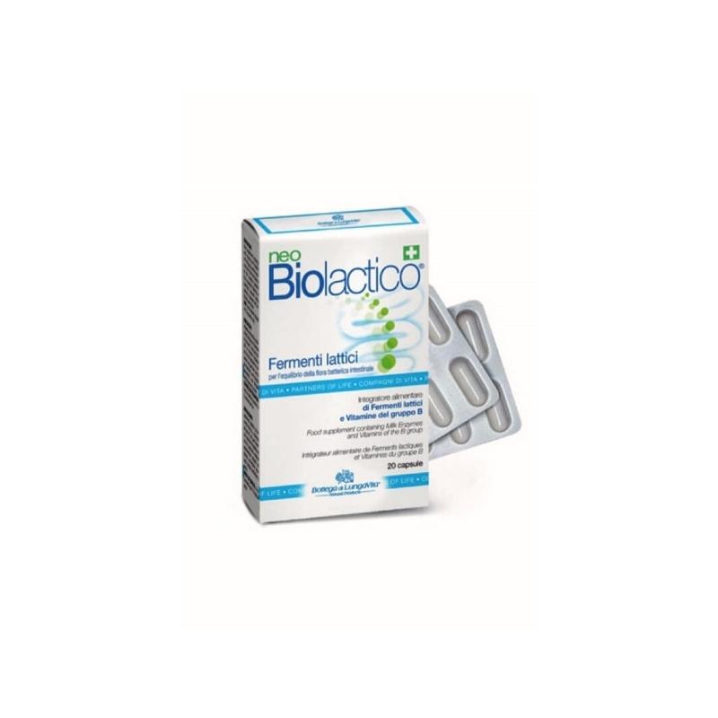 Bottega di Lungavita neoBiolactico B-vitamiinidega probiootikumid 20 kpsl
