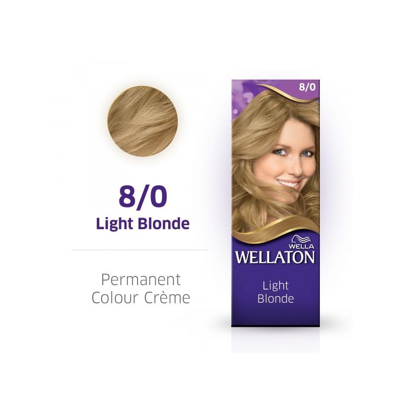 Wellaton Maxi Single püsivärv  8/0 heleblond