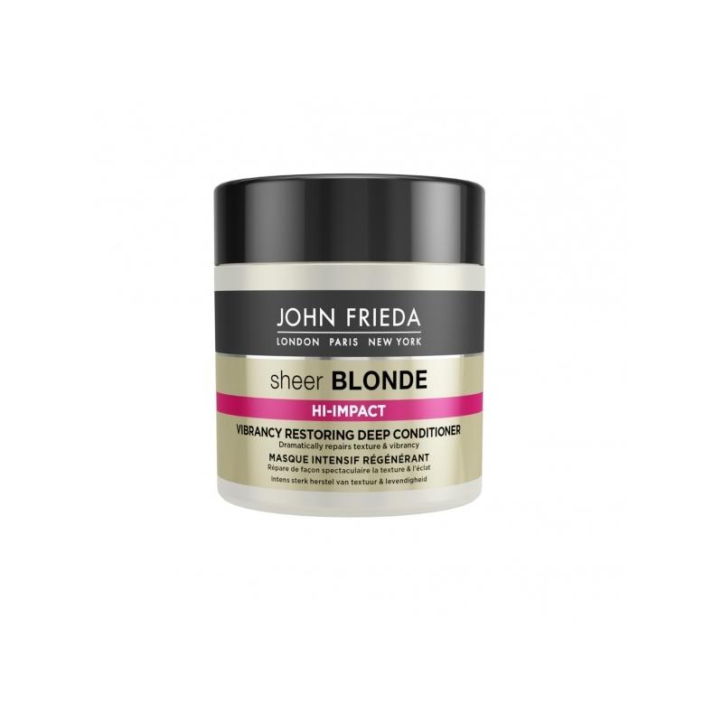 John Frieda Sheer Blonde Hi-Impact Vibrancy Restoring taastav juuksemask blondidele juustele