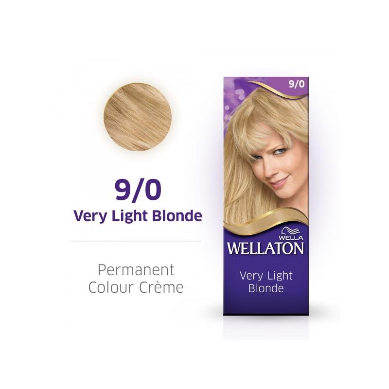 Wellaton Maxi Single püsivärv 9/0 väga hele blond
